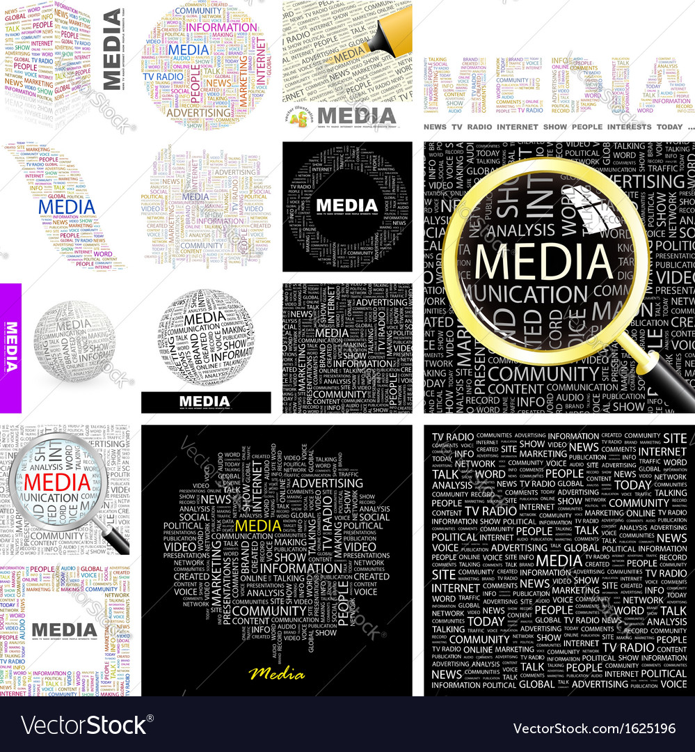Media vector | Price: 1 Credit (USD $1)