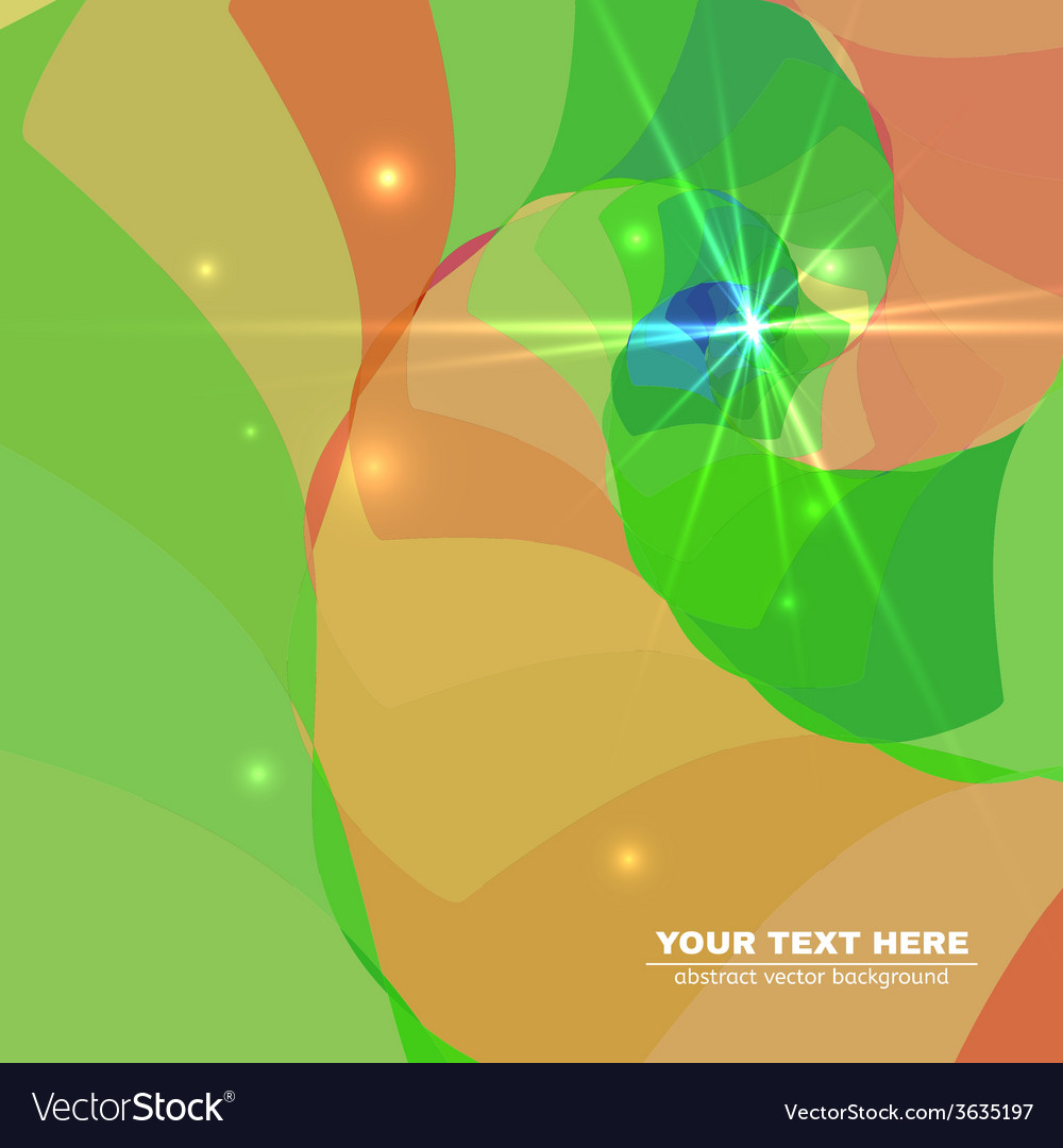 Abstract colorful spiral tunnel background vector | Price: 1 Credit (USD $1)
