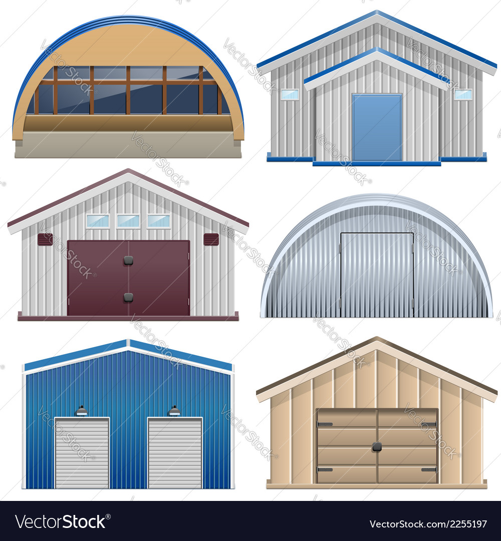 Barns vector | Price: 1 Credit (USD $1)