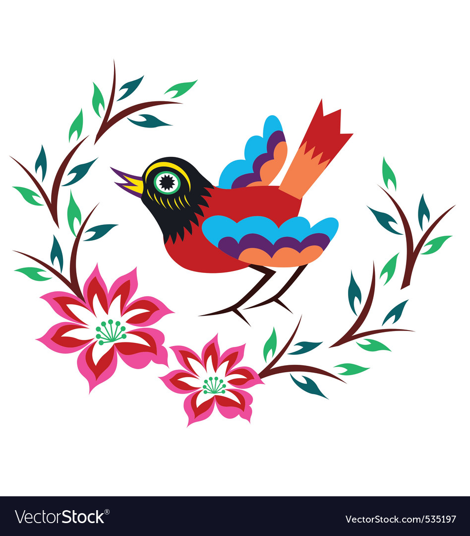 Creative bird design vector | Price: 1 Credit (USD $1)