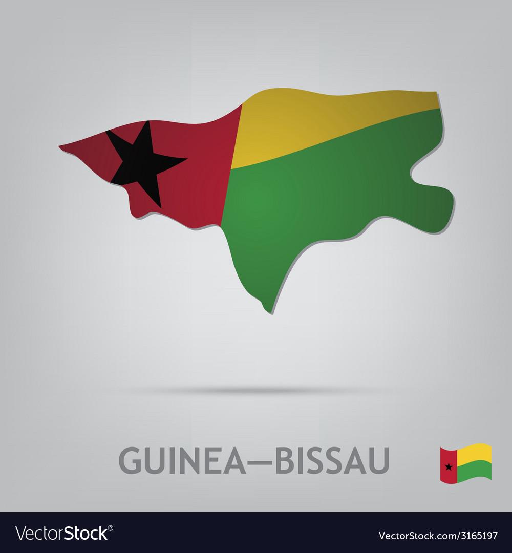 Guinea-bissau vector | Price: 1 Credit (USD $1)