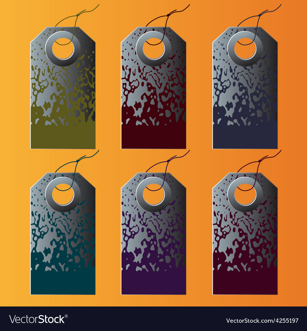 Set of the colorful tags vector | Price: 1 Credit (USD $1)