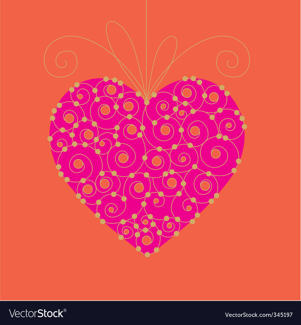Valentine day card 03 vector | Price: 1 Credit (USD $1)