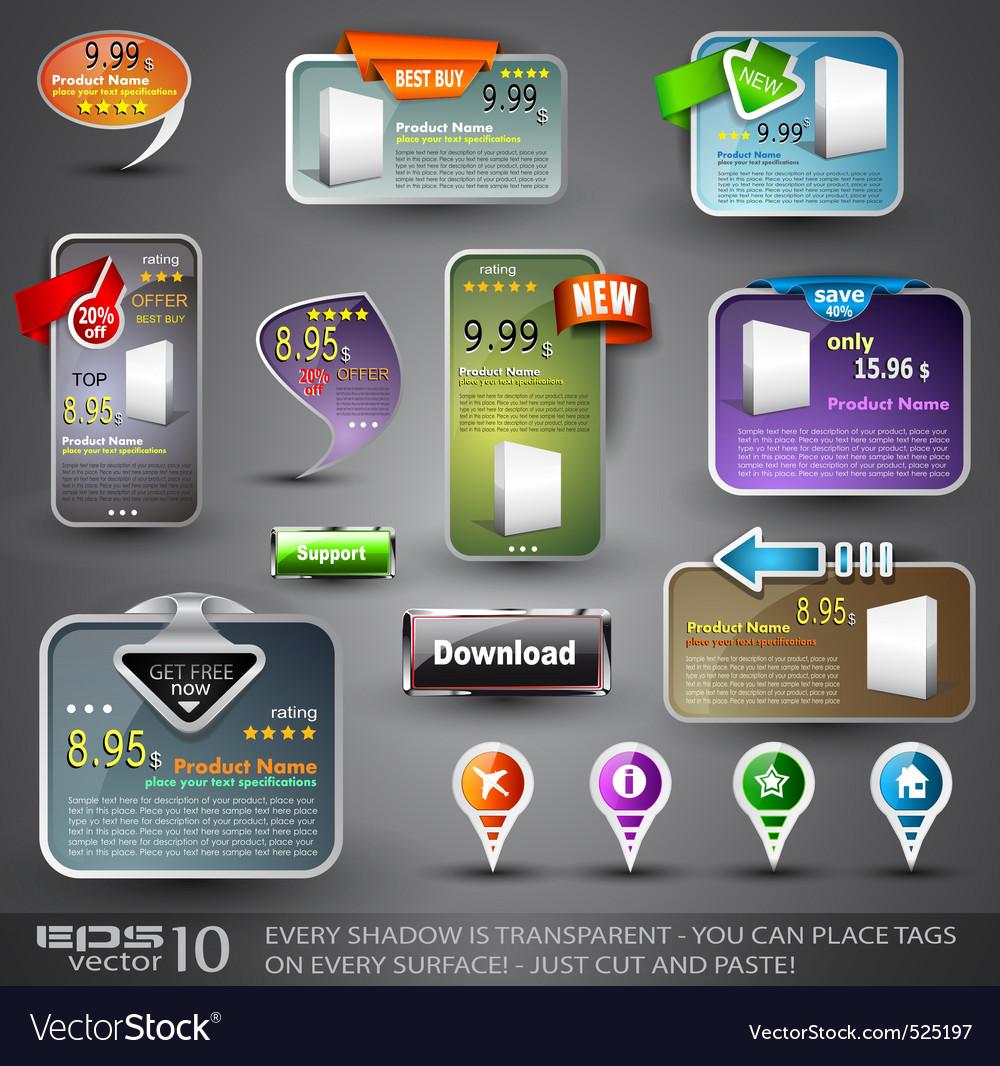 Web design vector | Price: 3 Credit (USD $3)