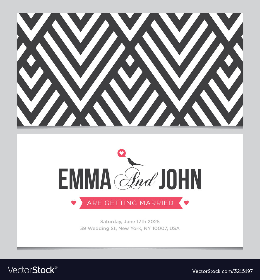 Wedding card pattern 01 vector | Price: 1 Credit (USD $1)