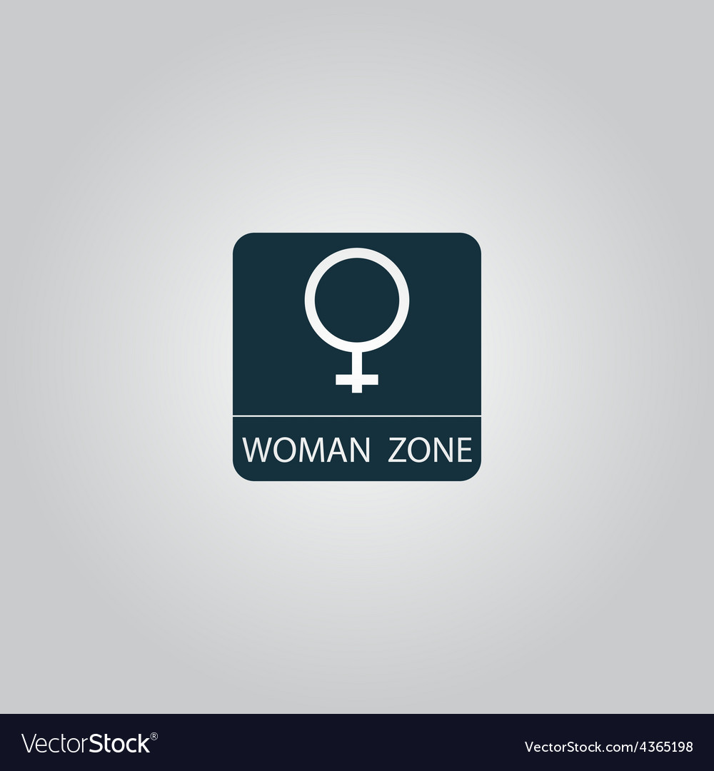 Female symbol woman vector | Price: 1 Credit (USD $1)