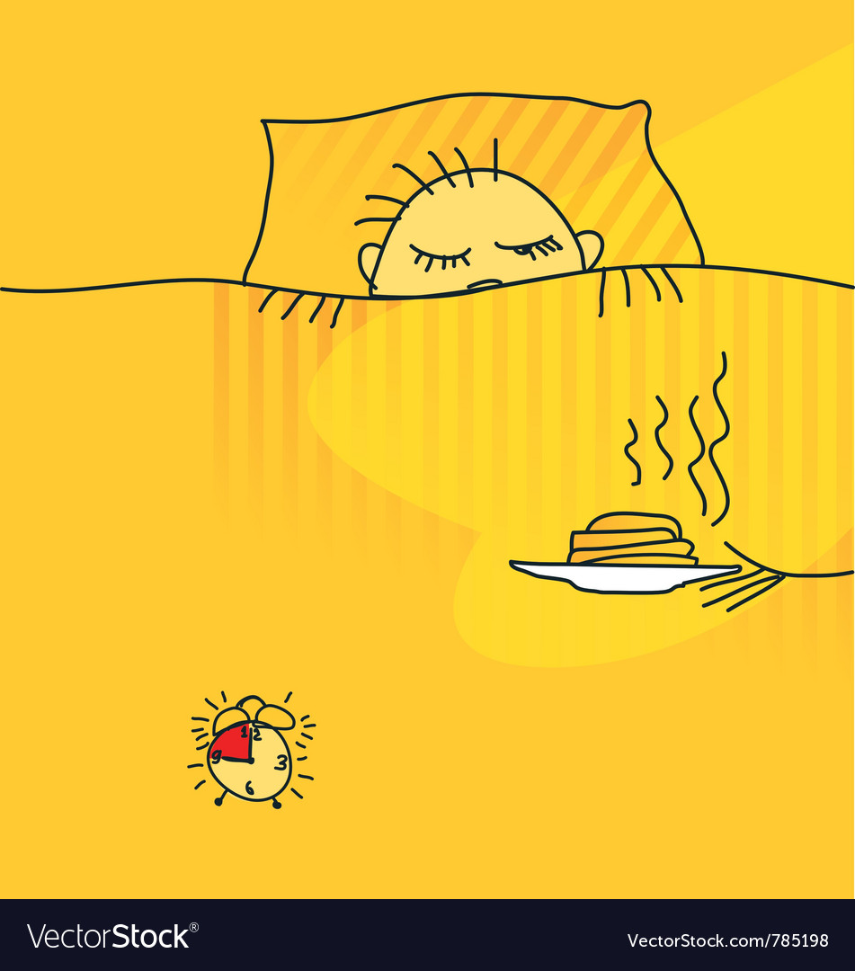 Morning awake vector | Price: 1 Credit (USD $1)