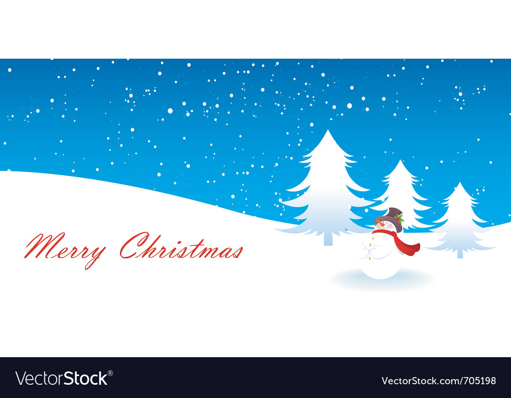 Snowman xmas vector | Price: 1 Credit (USD $1)