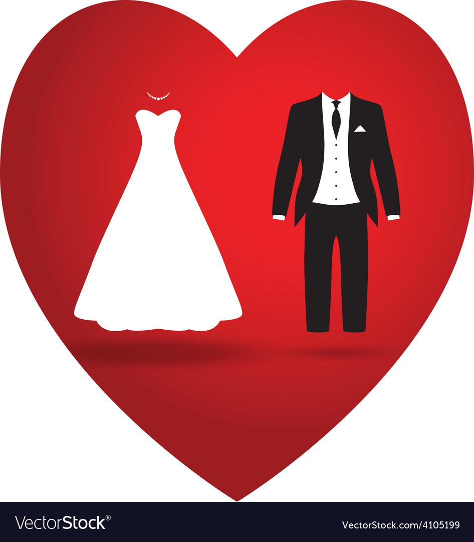 Bride groom vector | Price: 1 Credit (USD $1)