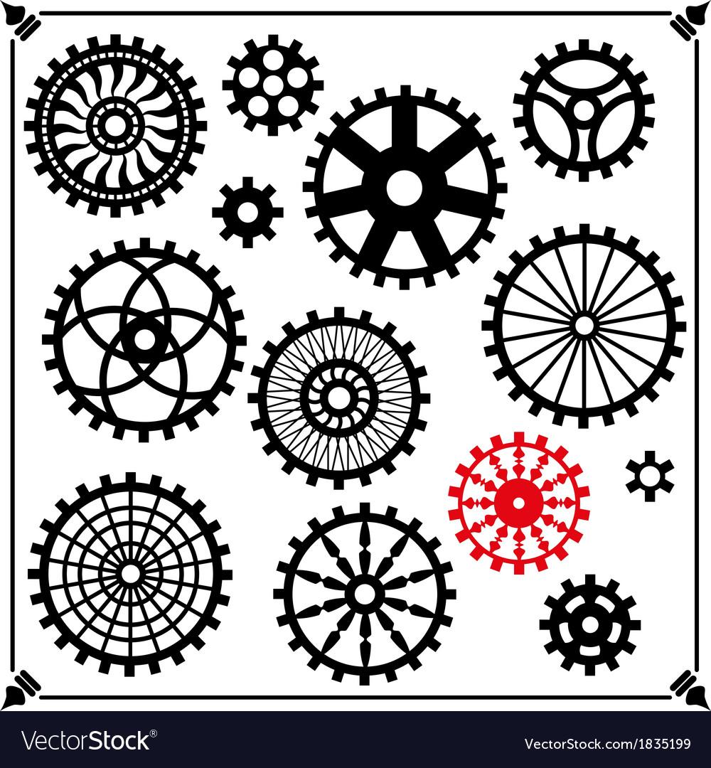 Gears vector | Price: 1 Credit (USD $1)