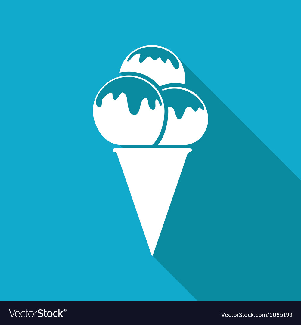 Icecream icon eps10 vector