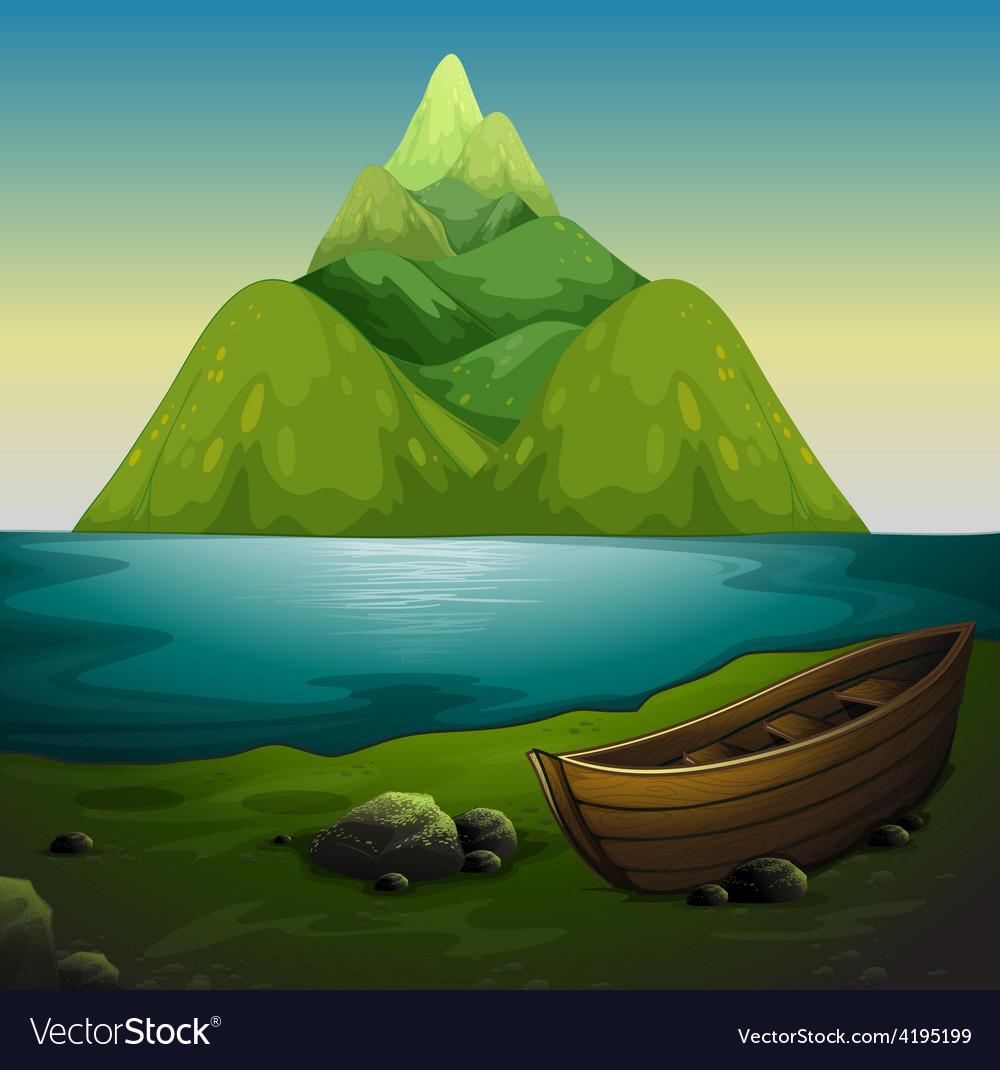 Lake vector | Price: 3 Credit (USD $3)