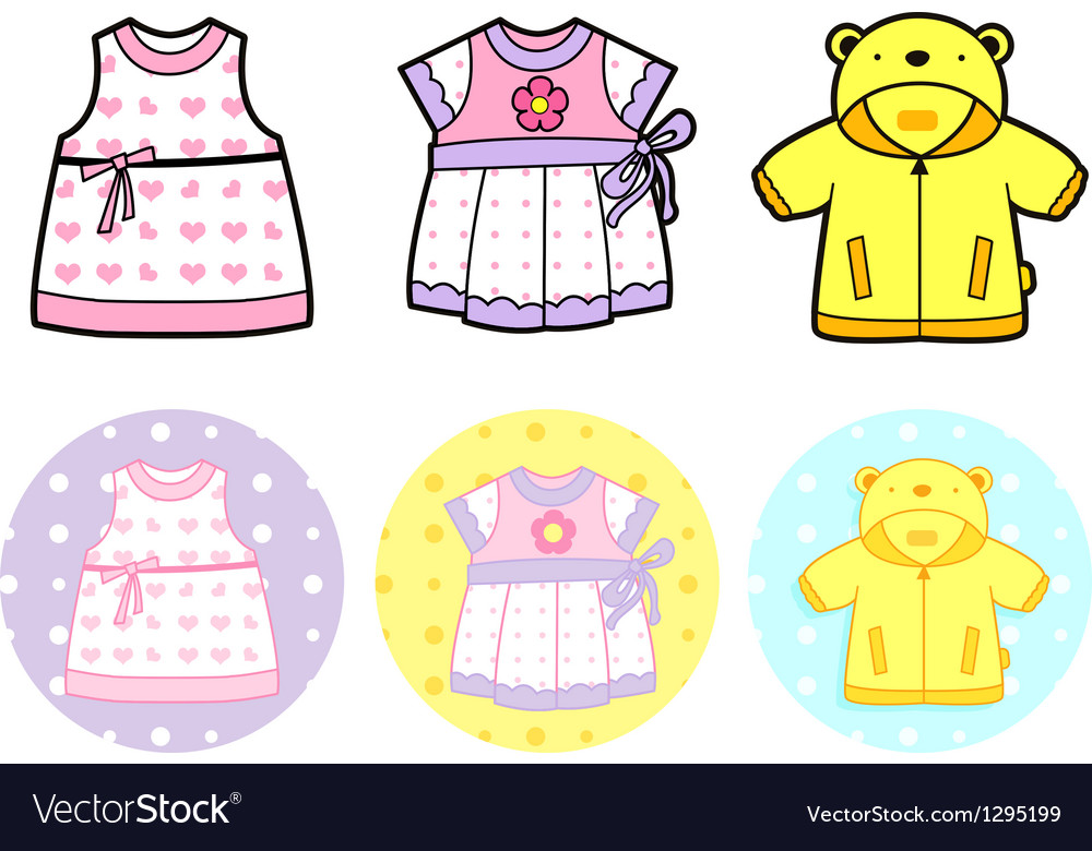 Various styles of jumper and dress vector | Price: 1 Credit (USD $1)