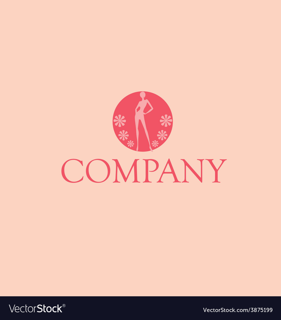 Woman company logo vector | Price: 1 Credit (USD $1)