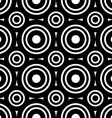 Seamless geometric black and white stripes vector