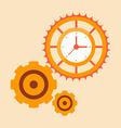 Time mechanisms vector