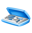 Manicure set vector