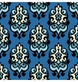 Damask seamless ornamental vector