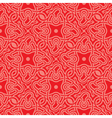 Red seamless pattern vector