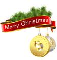Christmas dollar vector