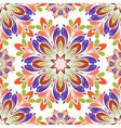 Round seamless pattern vector