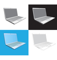 Laptop computer vector