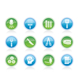 Barbecue and grill icons vector