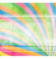 Modern background in rainbow colors vector