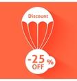 Discount parachute vector