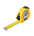 Tape measure isolated vector