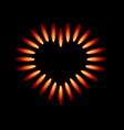 Gas stove vector