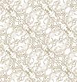 Filigree seamless pattern vector