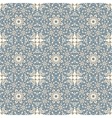 Seamless pattern with mosaic lace ornament vector