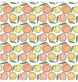 Peach pattern vector