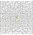 Big maze vector