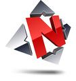 N 3d letter vector