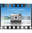 Art photography vector