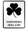 Northern ireland sign vector