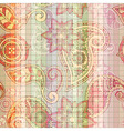 Seamless tile paisley pattern vector
