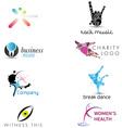 Creative corporate identity elements vector