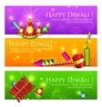 Diwali banner vector