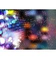 Colorful transparent lights vector
