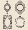 Ornaments set vector