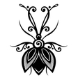 Beautiful beetle exotic insect vector