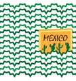Ethnic mexican background vector