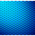 Creative blue triangle pattern background vector