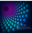 Rainbow vortex background vector