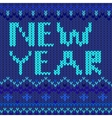 New year blue vector
