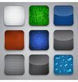 Apps icon set vector