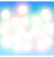 Colorful bokeh light background vector